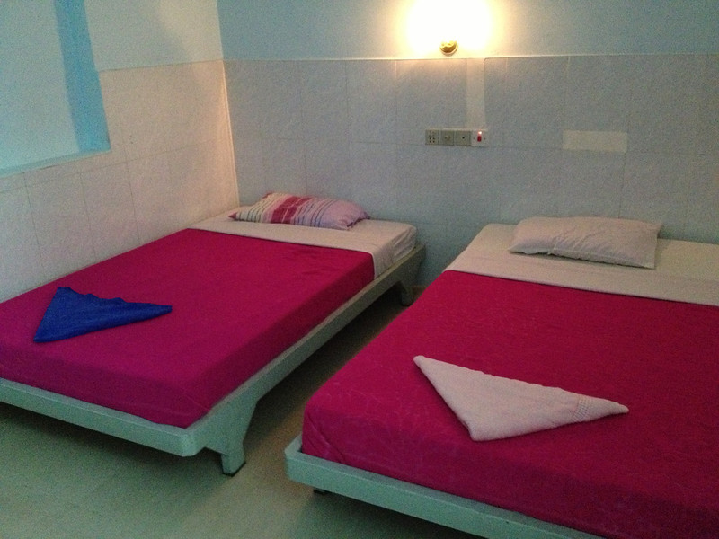 Guesthouse in Sihanoukville.