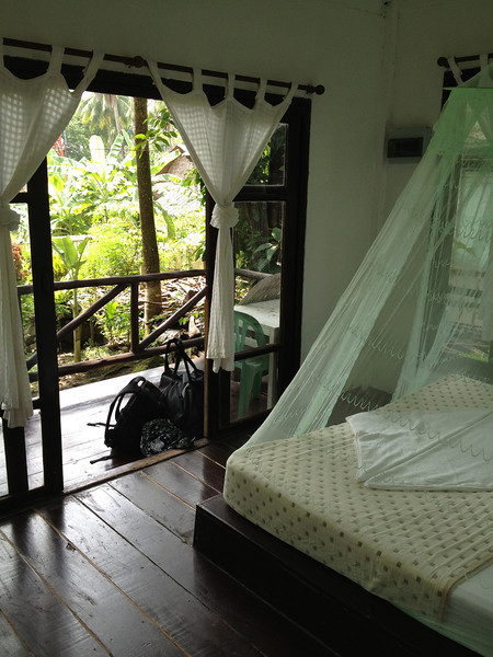 Garden view bungalow on Koh Chang, Thailand.