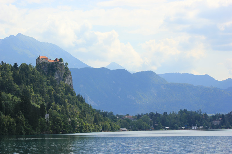 Castle above Lake Bled, Slovenia.